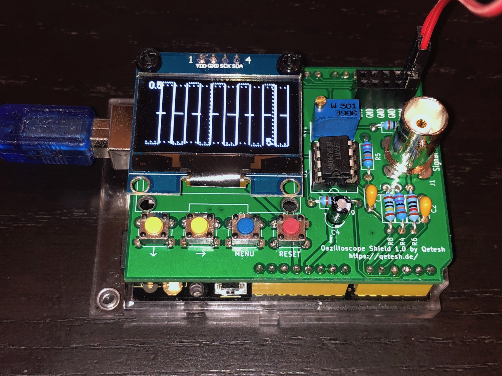 V1 Measuring the built-in signal generator